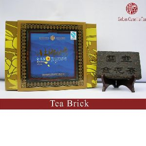 golden camellia tea--tea brick